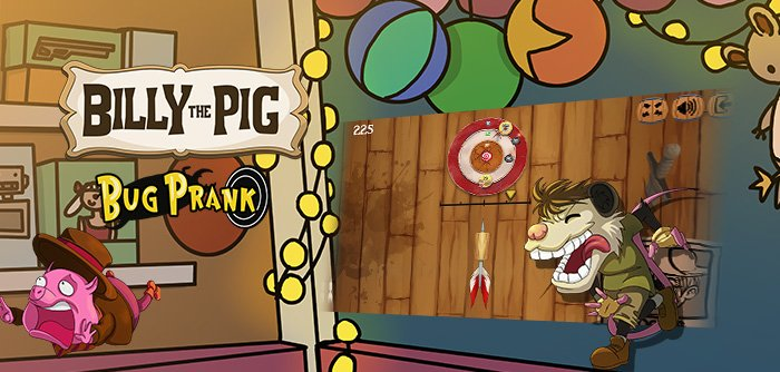 Billy the Pig brings you a new Game for sharp eyes :)