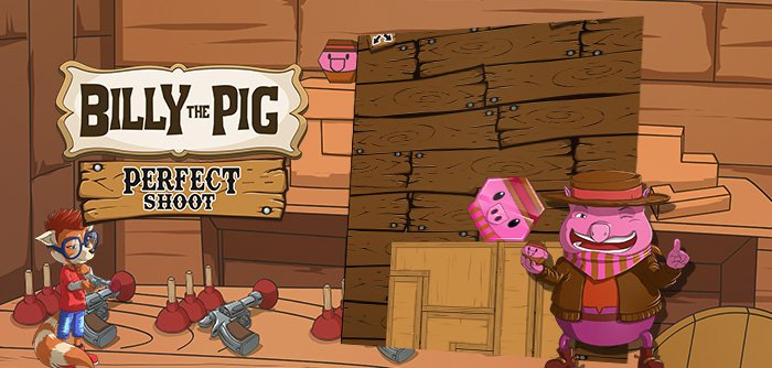 Billy the Pig offers a new attraction from ZooValley: it's up to you to master gravity to win this not-so-simple puzzle game!
