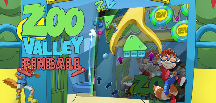 All the characters of ZooValley take you into their world with this super fun pinball game!