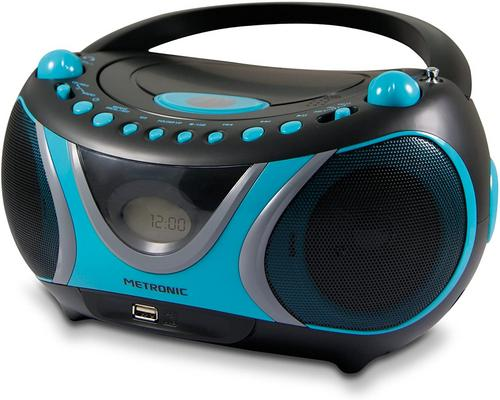 un Lecteur Cd Metronic 477118 Radio / Cd / Mp3 Sportsman