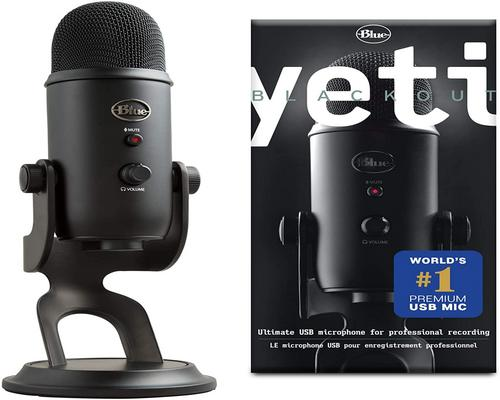 un Micro Pc Blue Yeti Usb