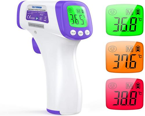 un Thermomètre Frontal Idoit Thermometre Adulte