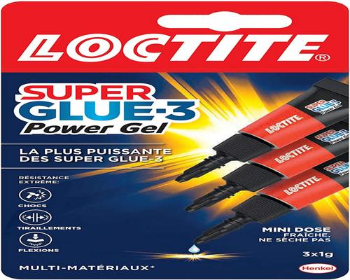 une Colle Loctite 1858125 Superglue 3 Gel Power Flex