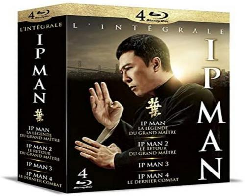 un Film Ip Man-1-2-3-4 [Blu-Ray]