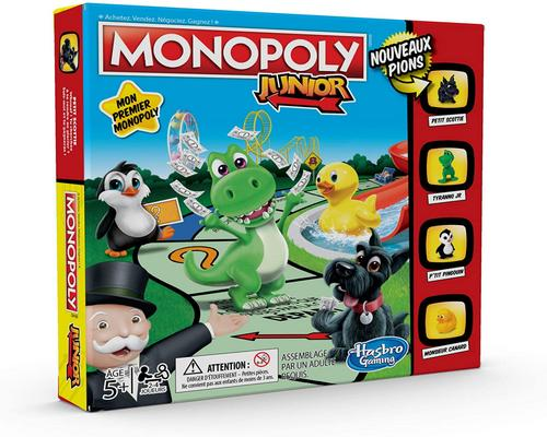 un Jeu Monopoly Junior