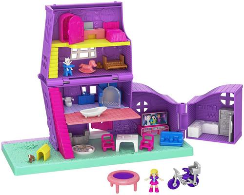 un Accessoire Polly Pocket Pollyville​ La Maison De Polly