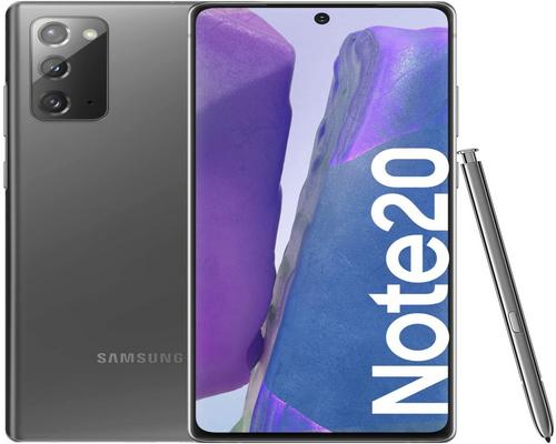 un Smartphone Samsung Note20 256Gb Gray