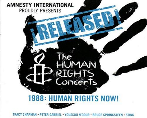 un Cd Released The Concerts 1988:Human Rights