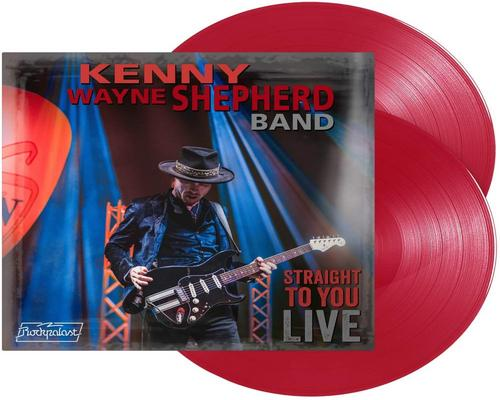 un Vinyle Straight To You Live-Double Vinyle Rouge Transparent