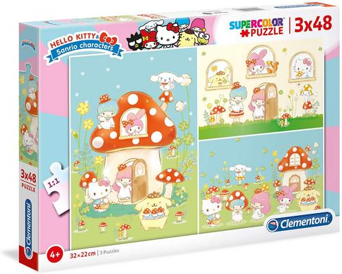 un Puzzle Clementoni- Hello Kitty