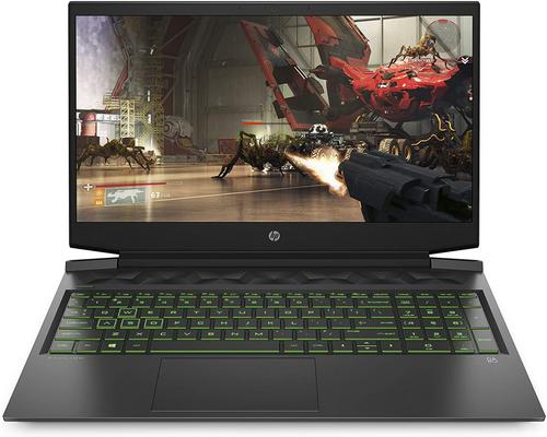 "un Ordinateur Hp Pavilion Gaming 16-A0000Sf/16-A0076Nf Pc Gaming 16,1"" Fhd Ips Noir"