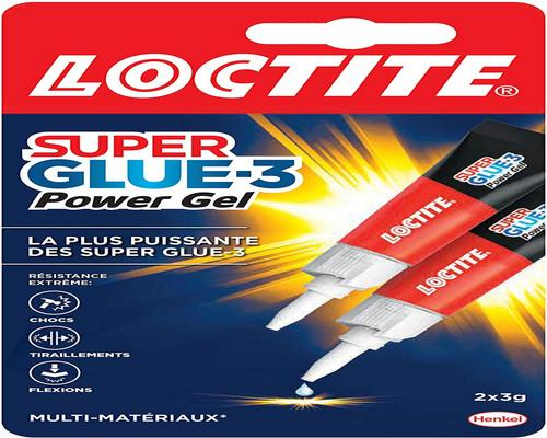 une Colle Loctite Super Glue-3 Power Gel