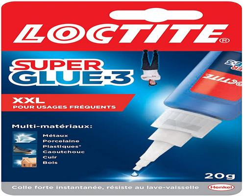 une Colle Loctite Super Glue-3 Xxl