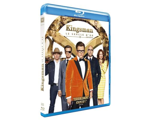 Un BluRay Kingsman : Le cercle d'or