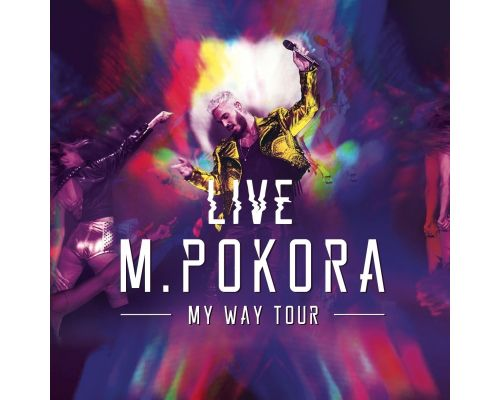 Un coffret CD My Way Tour Live - Edition collector