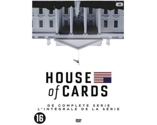 Un Coffret DVD House Of Cards - l'Integrale De La Série