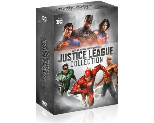 Un Coffret DVD Justice League Collection