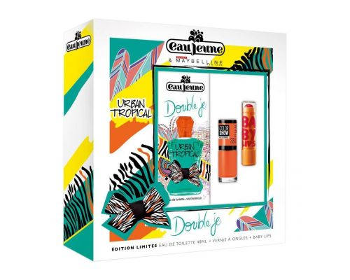 A Double Fragrance Set Je Urban Tropical Eau Jeune