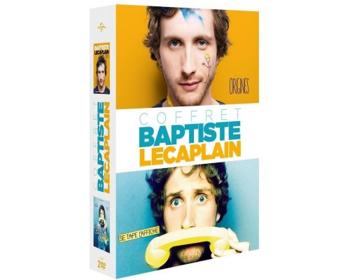Un Coffret DVD Baptiste Lecaplain se tape l'affiche + Origines