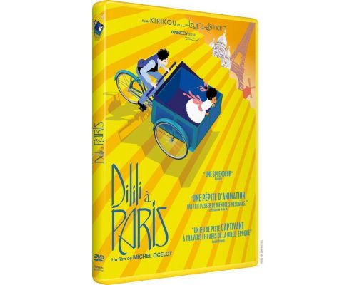 Un DVD Dilili à Paris