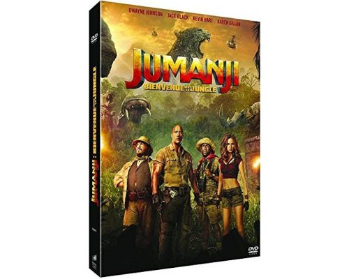 Un DVD Jumanji : Bienvenue dans la jungle