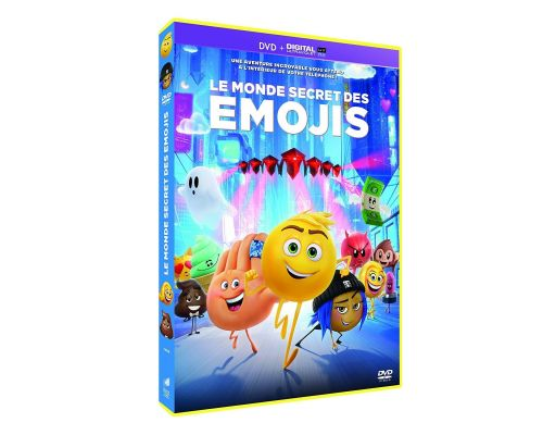 Un DVD Le Monde secret des Emojis