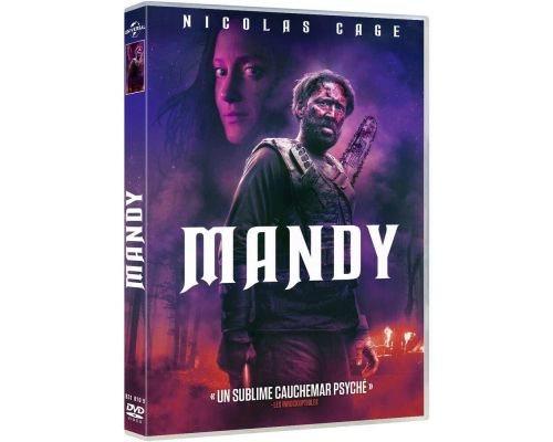 Un DVD Mandy                                                                                                                                                                    +