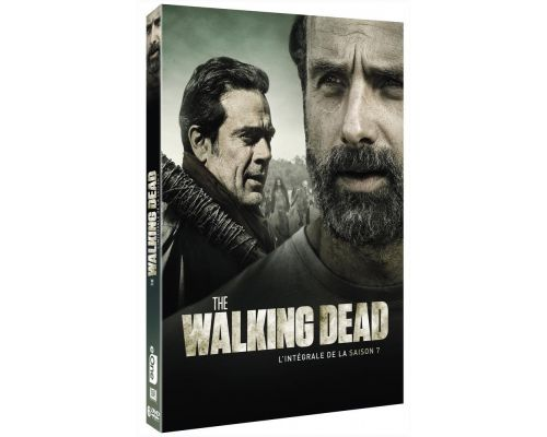 Un DVD The Walking Dead  L intégrale de la saison 7