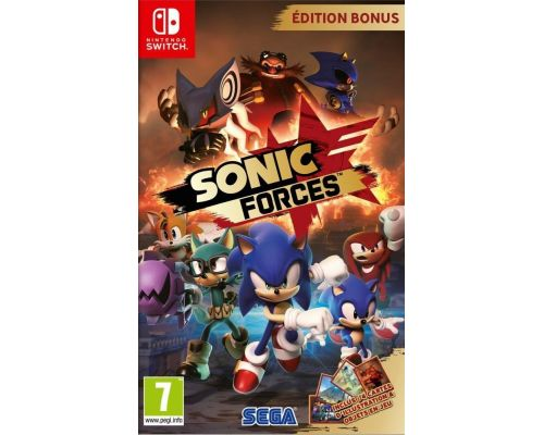 Un Jeu Nintendo Switch Sonic Forces Bonus Edition