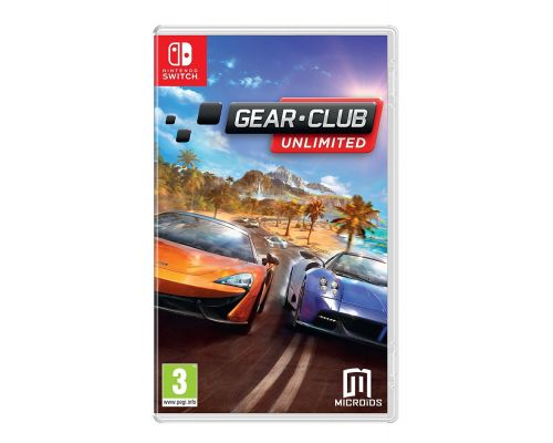 Un Jeu Nintendo Switch GearClub Unlimited