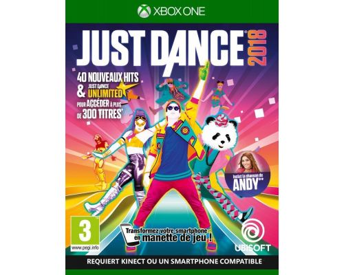 Un Jeu XBox One Just Dance 2018