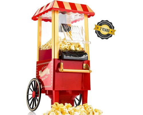 Une Machine à Pop Corn Retro