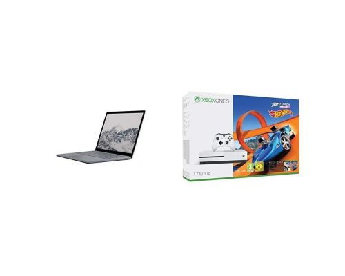 Un Microsoft Surface Laptop avec Xbox One