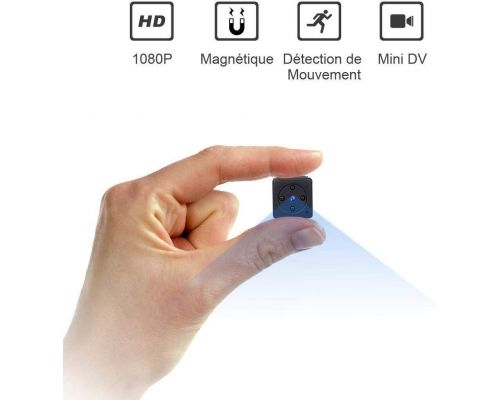 Une Mini Camera Espion sans fil Full HD