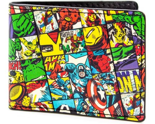 Un Portefeuille Marvel Multicolore