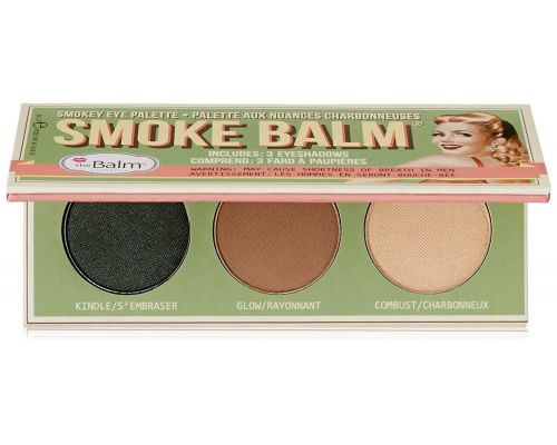 A Palette of Makeup Eyes Smoke Balm THEBALM
