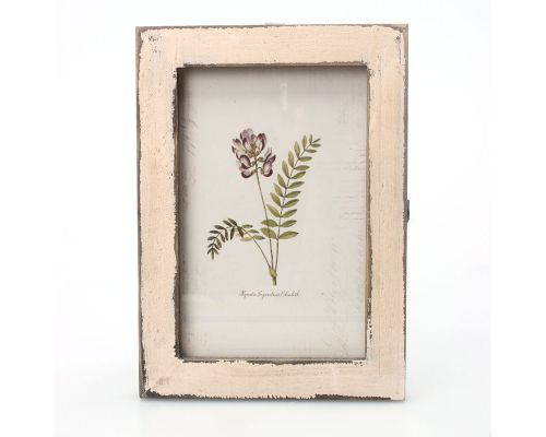 un Cadre Photo Vintage en Bois Blanc by Pears and Pines