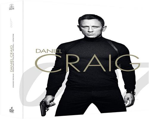 un Film James Bond 007-La Collection Daniel Craig : Casino Royale + Quantum Of Solace + Skyfall + Spectre