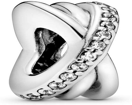 a Pandora Bead Women Silver Spacer For Charms And