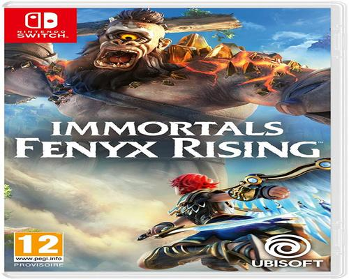 un Jeu Immortals Fenyx Rising Switch