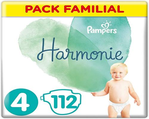 One Diaper Pampers Size 4
