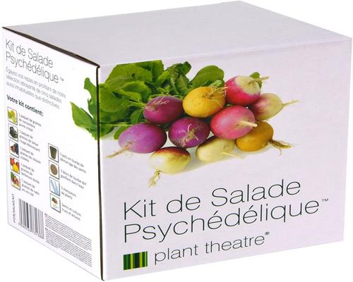 a Psychedelic Salad Kit Kit By Plant Theater