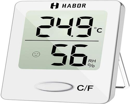 a Habor Mini Indoor Digital High Precision Thermometer