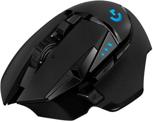 a Logitech G502 Lightspeed Wireless Gaming Mouse