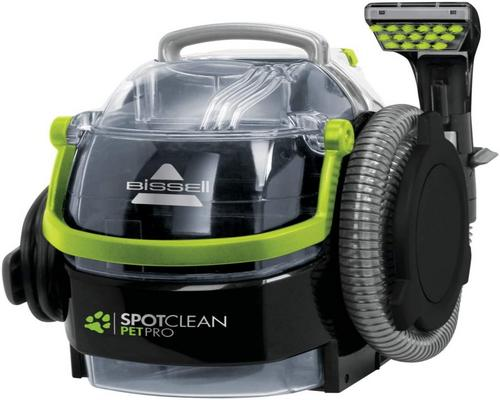 a Bissell Spotclean Pet Pro vacuum