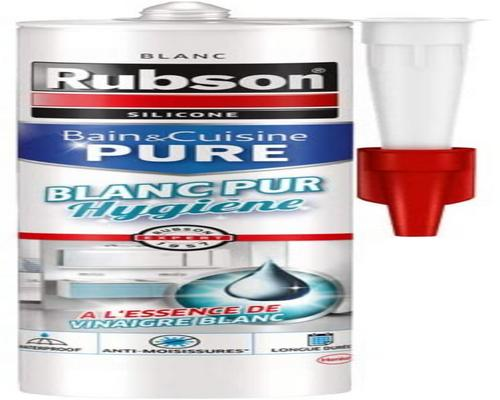 a Rubson Bath & Kitchen Putty Pure White Hygiene