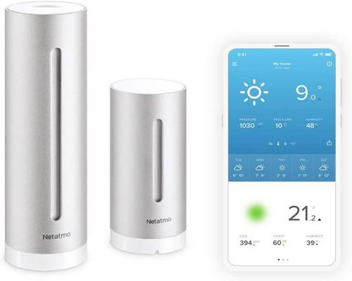a Netatmo Indoor Outdoor Wifi Station