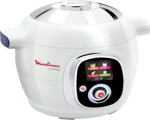 a Moulinex Cookeo Intelligent Multicooker Robot 100 Preprogrammed Recipes 6 L Up to 6 People 6 Cooking Modes