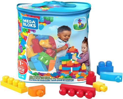 een Mega Bloks Blue Bag Toy