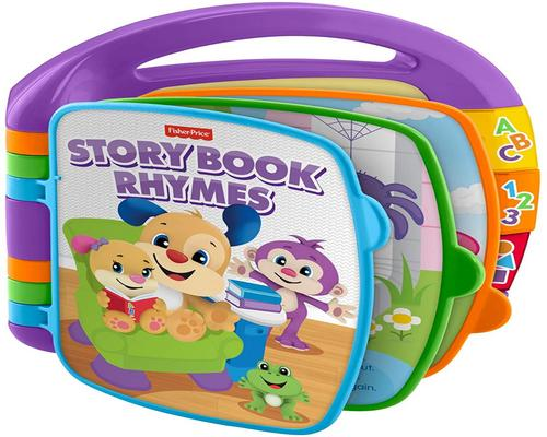 een Fisher-Price Toy Interactive Nursery Rhyme Book